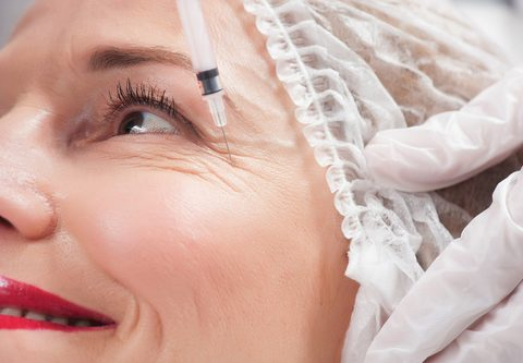 Wrinkle Relaxing Injections for Face and Neck – one area