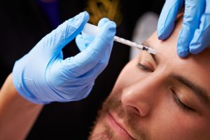 Anti Wrinkle injections for men as supplement
